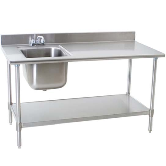Work Table With Sink-Large