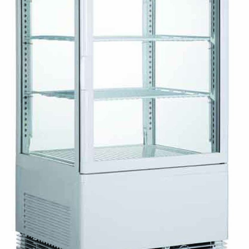 Chiller Flat Glass Display Counter