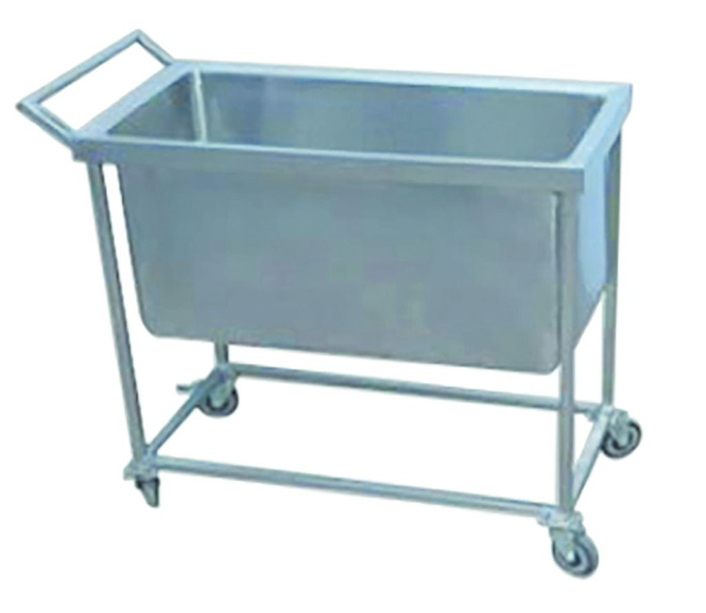 dish-collecting trolley-Large