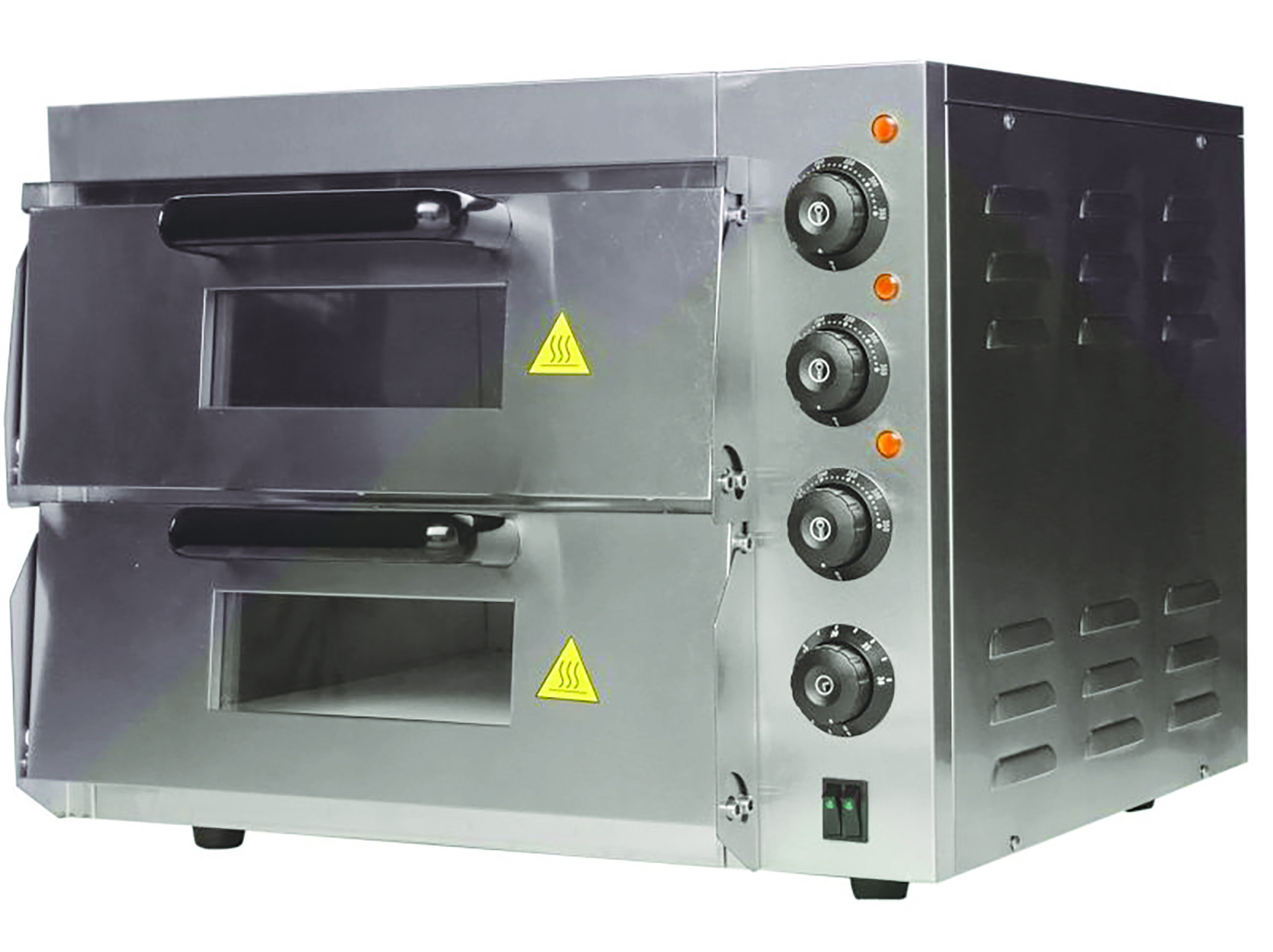 double electric pizza oven-Large
