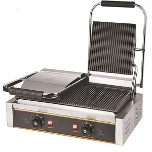 double head contact grill