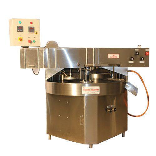 round chapati-maker