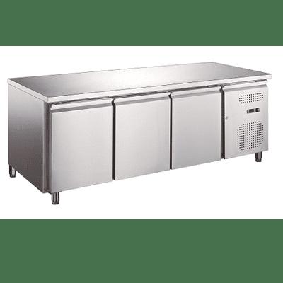 three door under counter chiller freezer-Large