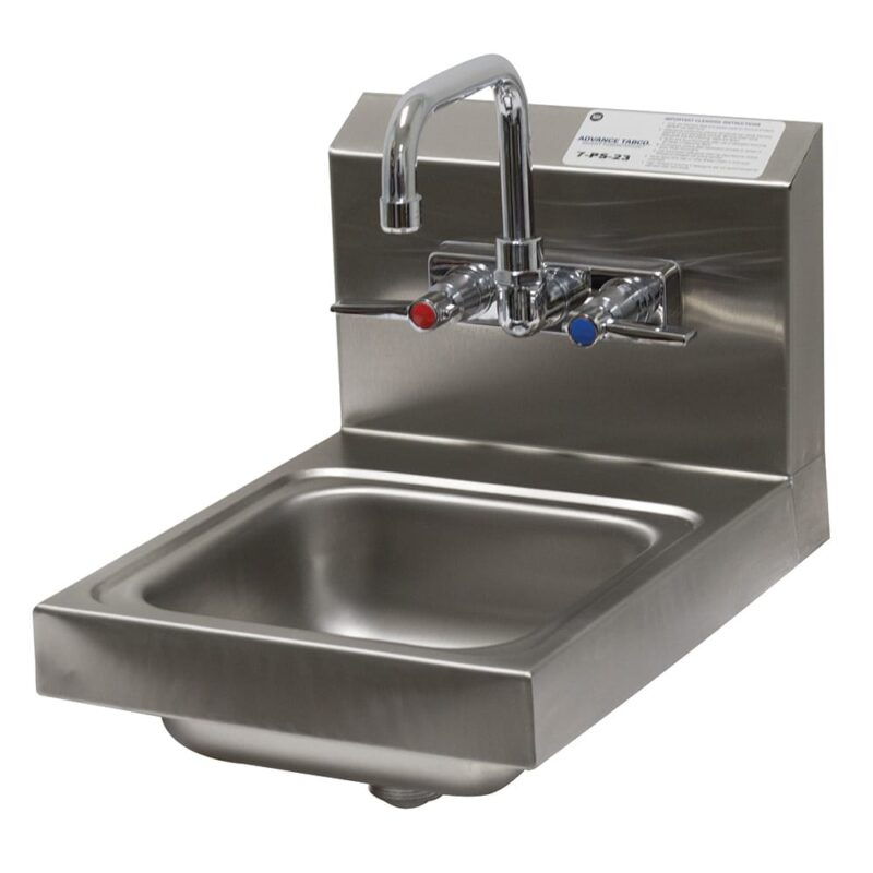 wall mounted sink